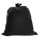 Genuine Joe Heavy Duty Trash Bag, 33 gal - 1.50 mil (38 Micron) Thickness - Low Density - 100/Box - Brown