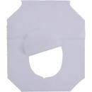 Genuine Joe Toilet Seat Cover, 2500 / Carton - White