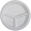 Genuine Joe 3-compartment Disposable Plates, GJO10219
