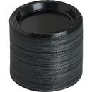 Genuine Joe Reusable Plastic Black Plates