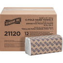 Genuine Joe C-Fold Paper Towels, GJO21120PL