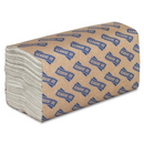 Genuine Joe C-Fold Paper Towel, 1 Ply - 240 Per Pack - 2400 / Carton - 13