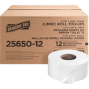Genuine Joe 2-ply Jumbo Roll Dispenser Bath Tissue, GJO2565012PL