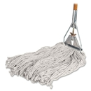 Genuine Joe Cotton Wet Mop with Handle, 60