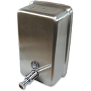 Genuine Joe Stainless Vertical Soap Dispenser, GJO85134
