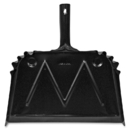 Genuine Joe Heavy-duty Metal Dustpan, GJO85151