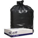 Genuine Joe 1.2mil Black Trash Can Liners