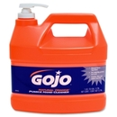 Gojo Natural Orange Pumice Heavy-Duty Hand Cleaner, Citrus Scent - 1 gal (3.8 L) - White - 4 / Carton