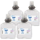 Gojo PURELL TFX Sanitizer Gel Refill, 40.6 fl oz (1200 mL) - Clear - 1 Each