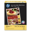 HP All-In-One Printing Paper, For Laser Print - Letter - 8.50