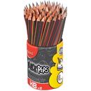 Helix Black Peps Triangular No. 2 Pencils, HLX851759ZV