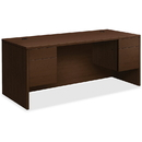 HON 10500 Series Double Pedestal Desk, HON10593MOMO