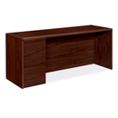 HON 10700 Series Credenza with Full-Height Left Pedestal, 72