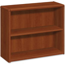 HON 10700 Series Cognac Laminated Fixed Shelves Bookcase