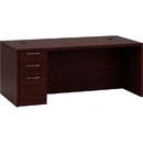 HON Valido 11500 Series Rectangular Top Left Pedestal Desk, 72