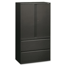 HON 800 Series Wide Lateral File with Storage Cabinet, 36