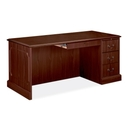 HON 94000 Series Right Single Pedestal Desk, 66