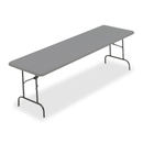 Iceberg IndestrucTable TOO 1200 Series Folding Table, Rectangle - 30