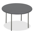 Iceberg IndestrucTable TOO 1200 Series Round Folding Table, Round - 48