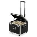 IdeaStream Vaultz Mobile Letter/Legal Chest, Telescopic Handle - 2 Caster - Polyvinyl Chloride (PVC) - 17.5