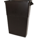 Thin Bin 23-gal Brown Container, IMP70234