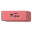Integra Medium Beveled End Eraser, Lead Pencil Eraser - Soft, Pliable, Latex-free - 0.8
