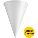 Konie Rolled Rim Paper Cone Cups, KCI45KRCT
