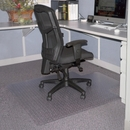 Lorell Economy Weight Chair Mat, Carpeted Floor - 48