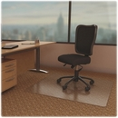 Lorell Economy Weight Chair Mat, Carpeted Floor - 60