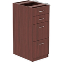 Lorell Relevance Series Mahogany Laminate Office Furniture, LLR16210