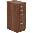 Lorell Walnut Laminate 4-drawer File Cabinet, LLR16236