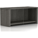 Lorell Weathered Charcoal Wall Mount Hutch, LLR16241