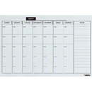 Lorell Monthly Planner Magnetic Dry-erase Board, LLR19212