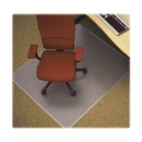 Lorell Diamond Anti-static Chair Mat, 46
