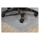 Lorell PlushMat Chair Mat, 60