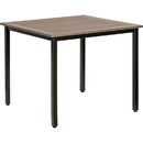 Lorell Charcoal Outdoor Table, LLR42686