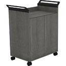 Lorell Laminate Mobile Storage Cabinet, LLR59647
