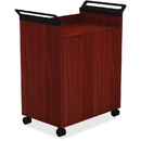 Lorell Laminate Mobile Storage Cabinet, LLR59650