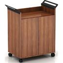 Lorell Laminate Mobile Storage Cabinet, LLR59653