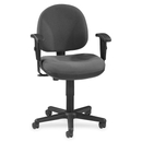 Lorell Millenia Pneumatic Adjustable Task Chair, Gray Seat - 24