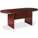 Lorell Essentials Oval Conference Table, Oval - 36