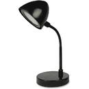 Lorell Black Shade LED Desk Lamp, LLR99776