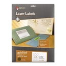 Maco Round Foil Laser Label, Round - 2.50