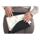 Master Memory Foam Lumbar Support Cushion, Washable - Hook Mount - 12.5
