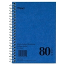 Mead Mid Tier Single Subject Notebook, 80 Sheet - College Ruled - 5