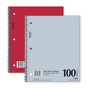 Mead Mid Tier Notebook, 100 Sheet - 15 lb - College Ruled - Letter 8.50
