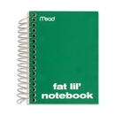 Mead Fat Lil' Fashion Notebook, 200 Sheet - College Ruled - 4