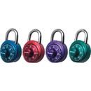 Master Lock X-treme Series Combination Padlock, 3 Digit - Master Keyed - Stainless Steel Body - Assorted
