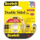 Scotch Double Sided Tape With Dispenser, 0.50