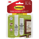 3M Command Picture Hanging Strips Mega Pack, MMM1720928ES